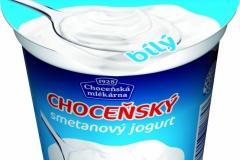 6409 - Choceňský smetanový jogurt bílý 150 g