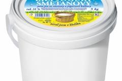 5190 - Bílý jogurt smetanový 10% 5 kg, 5191 - 10 kg