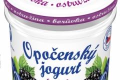 6206 - Opočenský jogurt borůvka-ostružina 150 g