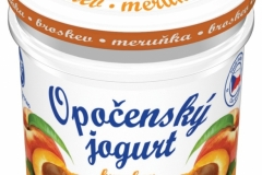 6207 - Opočenský jogurt broskev-meruňka 150 g