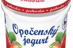 6204 - Opočenský jogurt jahoda 150 g