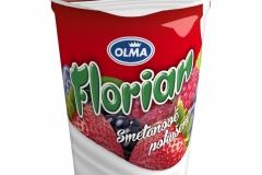 6106 - Florian smetanový jogurt lesní směs 150 g