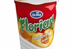6105 - Florian smetanový jogurt meruňka 150 g