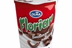 6103 - Florian smetanový jogurt stracciatella 150 g