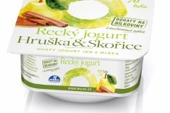 6455 - Řecký jogurt skořice 0% 140 g