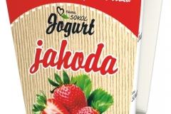 6238 - Jogurt jahoda 250 g